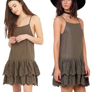 SOME DAYS lovin (ANTH) Serenade Lace Dress Green S